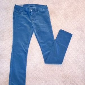 J Brand Cordoroy Denim- Vintage Metal Color